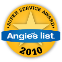 2010 Angie's List Super Service Award